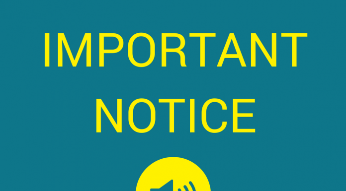 Important notice from Wrexham Council