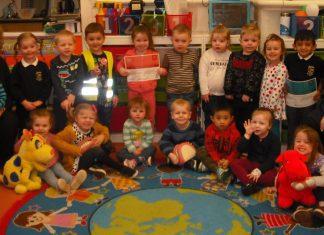 children at little gems playgorup wrexham