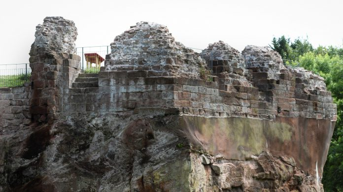 Holt Castle History Heritage Wrexham Council