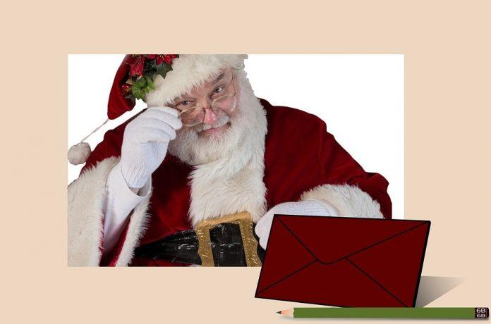 Santa at Ty Pawb