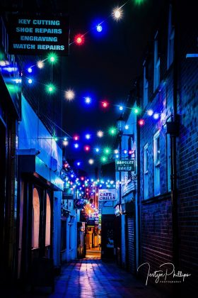 Wrexham Christmas lights