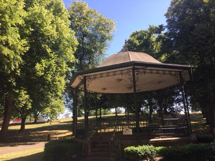 Bellevue Park Walking Bandstand