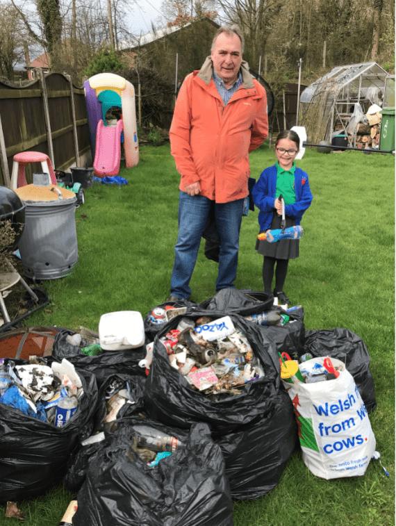 Litter Waste Spring Clean