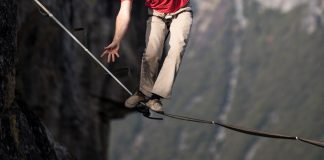 Walking a tightrope?