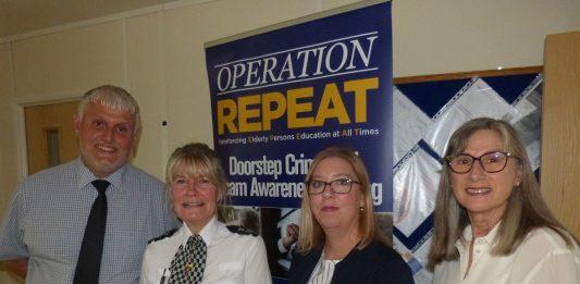 Operation Repeat training in Wrexham