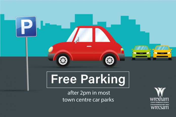 Free Parking in Wrexham