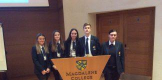 Students Ysgol Clywedog Cambridge
