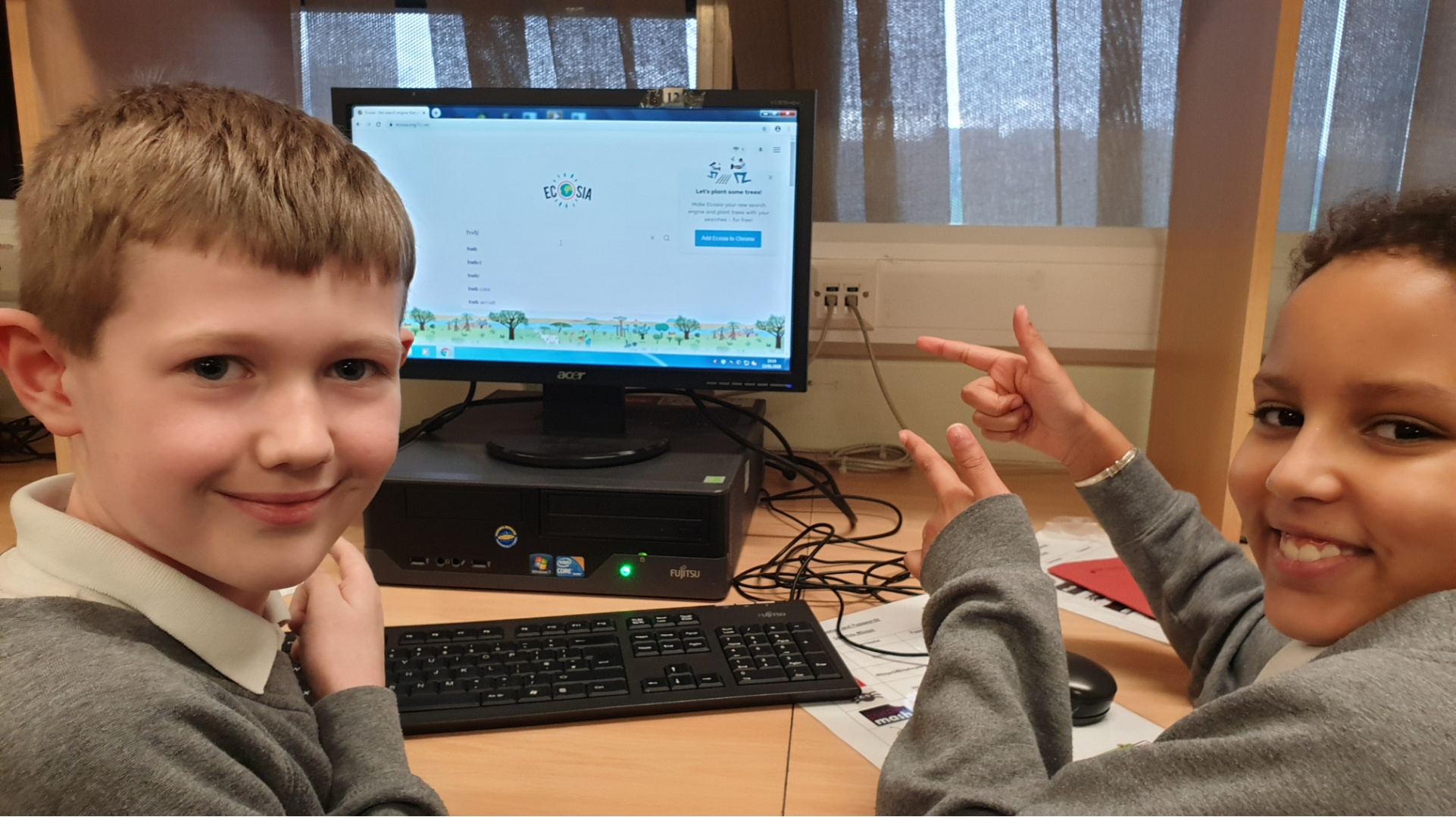 These Wrexham pupils are trying to help our planet