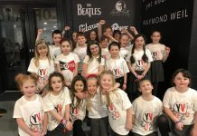 Wrexham pupils are singing stars at Manchester Arena concerts