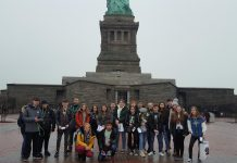 Wrexham students experience cultural 'trip of a lifetime' to New York Ysgol Bryn Alyn