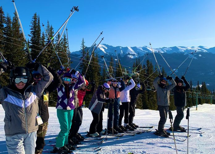 Ice-ly does it! Canada ski trip thrills Wrexham students