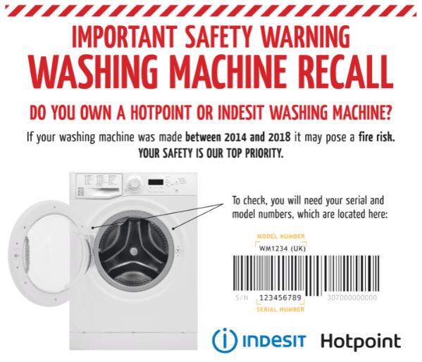 Whirlpool Washing Machine Recall