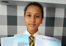 Well done Lenka! Wrexham pupil is Overall Winner in Creative Competition