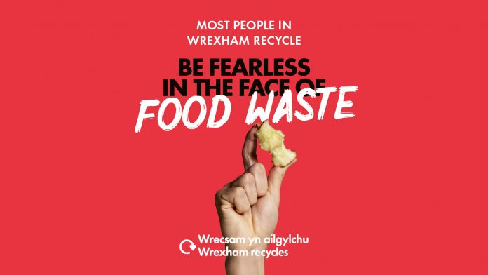 Be fearless in the face of food waste… Be Mighty. Recycle.