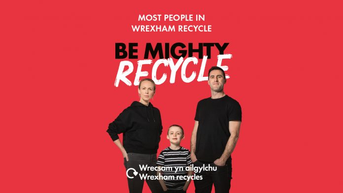 Be Mighty. Recycle. Top 3 is great, but let's aim for number 1!