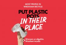 Put plastic pots in their place…Be Mighty. Recycle.
