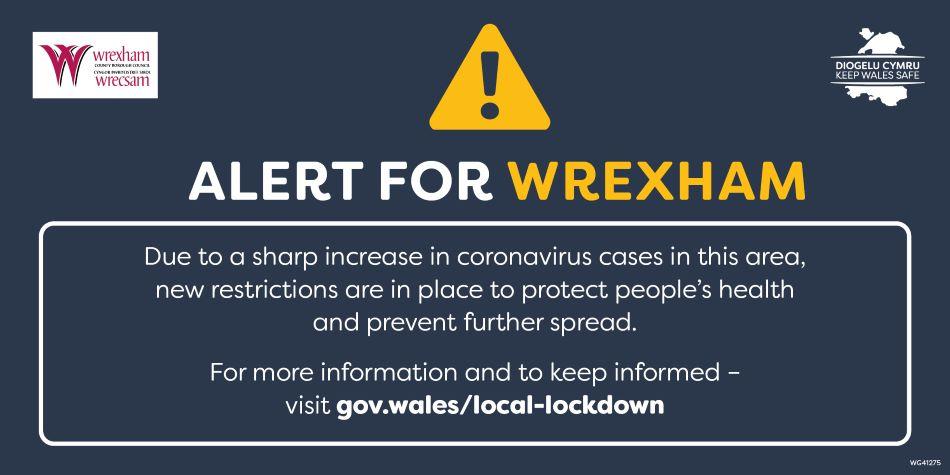 New restrictions in Wrexham