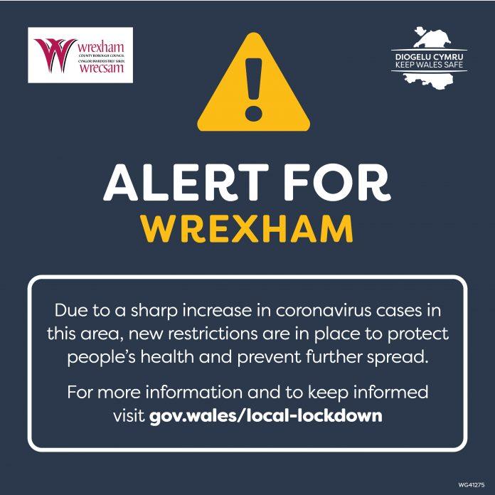 Extra restrictions in Wrexham