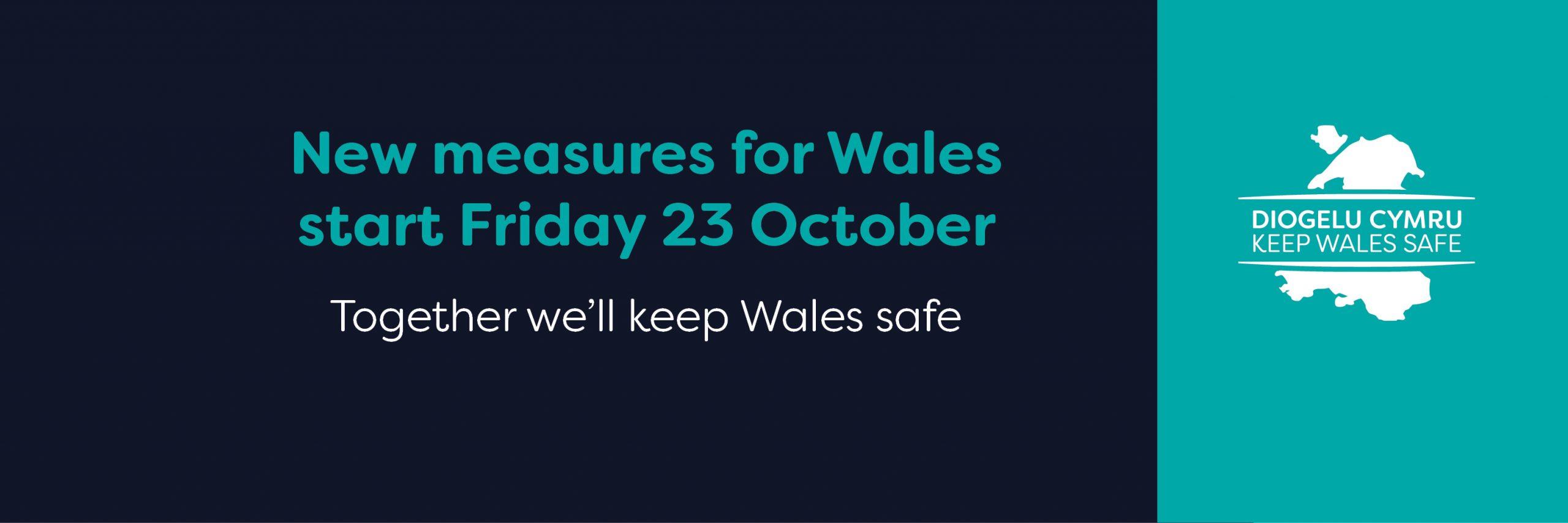 Fire break lockdown in Wales