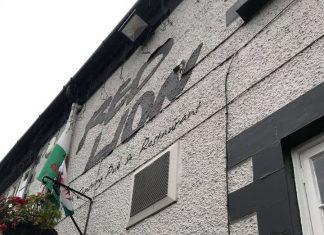 Red Lion pub in Marchwiel, Wrexham