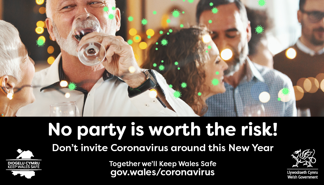 No party is worth the risk - don't invite coronavirus around to yours this New Year
