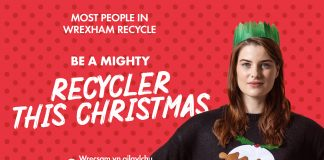 Keep up the MIGHTY recycling effort this Christmas to help get Wales to number one