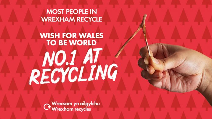Get Wales to number 1 for recycling