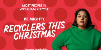 Be Mighty recyclers this Christmas