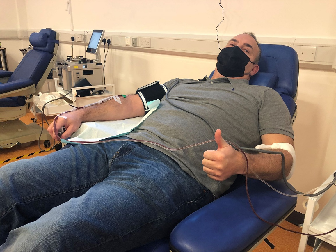 Plasma Donor