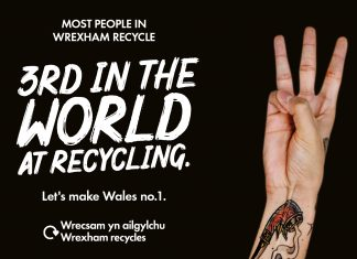 It's Global Recycling Day! Be Mighty. Recycle.