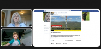 Misinformation screenshot