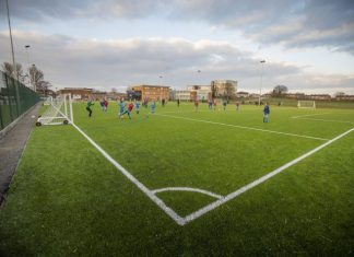 3G football pitches