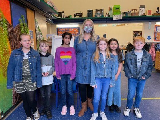 Denim for dementia - Victoria School, Wrexham