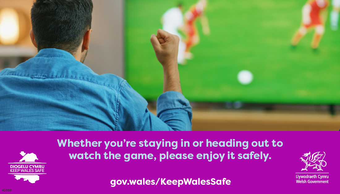 Watch the game safely