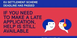 EU Settled status application support