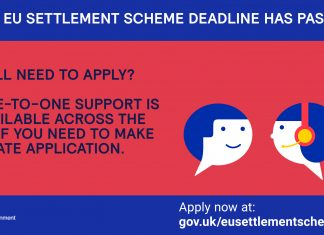 Help still available for late applications to the EU Settlement scheme