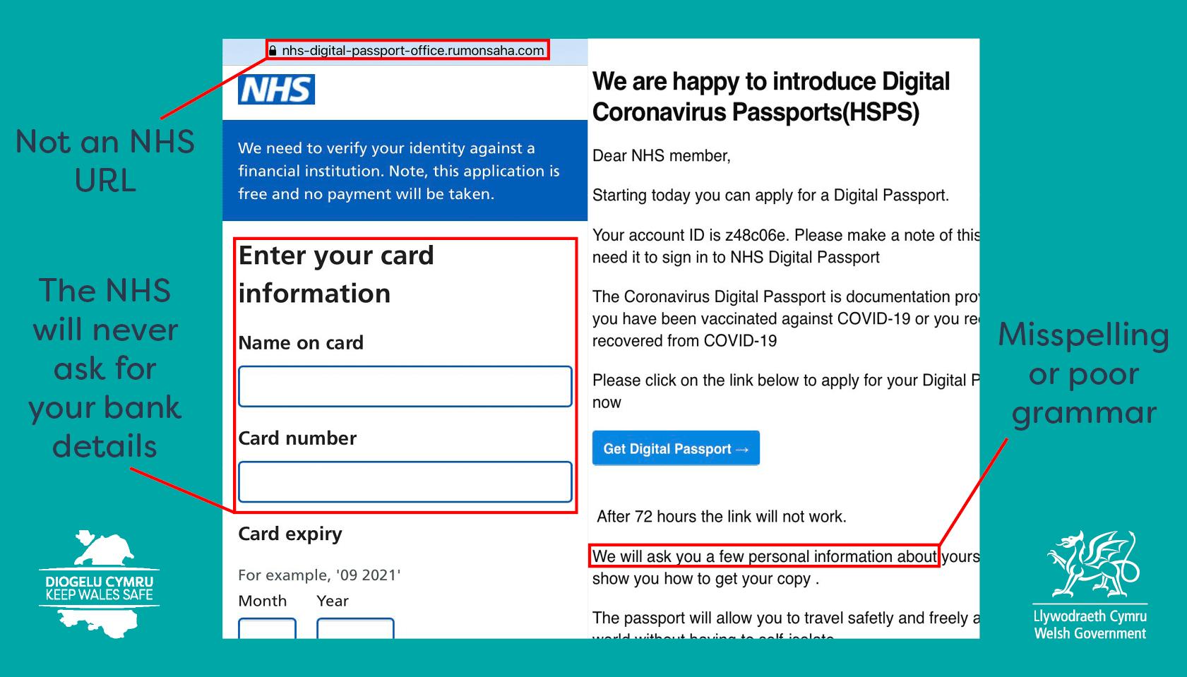 Covid Pass Scam